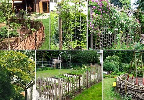 Gartengestaltung abgrenzung